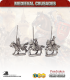10mm Medieval Crusades: Teutonic Mounted Command Pack