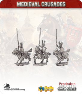 10mm Medieval Crusaders: Teutonic Knights Pack