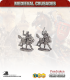 10mm Medieval Crusaders: Light Cavalry with Short Weapons Pack