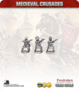 10mm Medieval Crusaders: Crossbowmen Pack