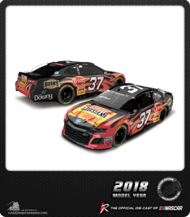 1/64 Nascar Diecast: Chris Buescher - 2018 Louisiana Hot Sauce Camaro
