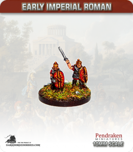 10mm Early Imperial: (Roman) Marian Legionaries