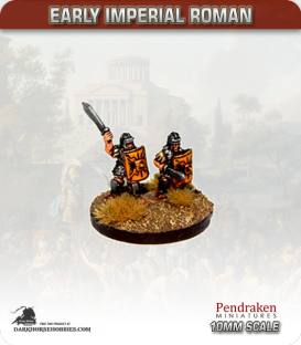 10mm Early Imperial: (Roman) Eastern Legionaries