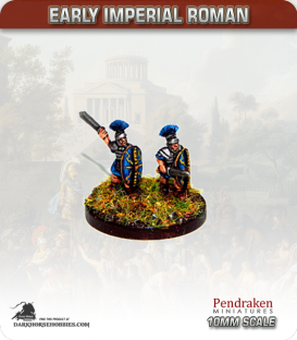 10mm Early Imperial: (Roman) Praetorian Guard