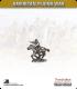 10mm Plains War: Indian Brave Mounted Firing Rifle