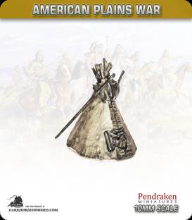 10mm Plains War: Indian Tee-Pee