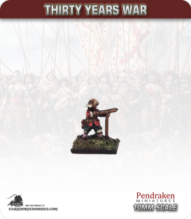 10mm Thirty Years War: Musketeers