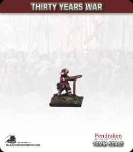 10mm Thirty Years War: Musketeers