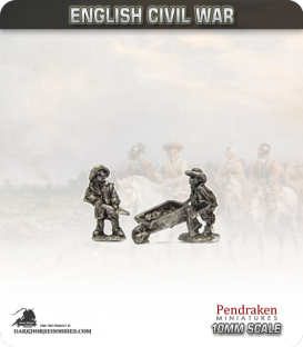10mm English Civil War: Labourers/Pioneers