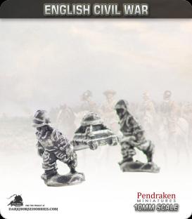 10mm English Civil War: Petard and Crew