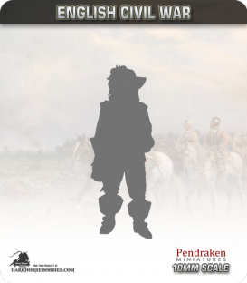10mm English Civil War: Dismounted Dragoons in Morion