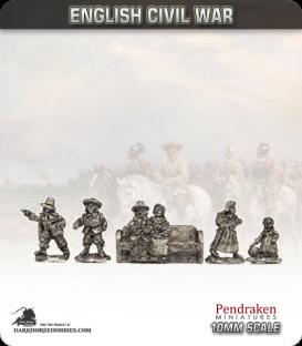 10mm English Civil War: Civilians