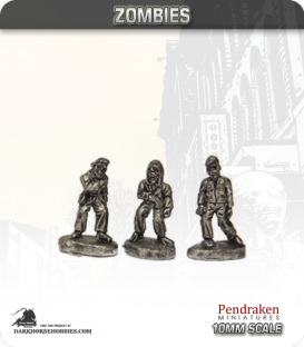 10mm Sci-Fi Zombies: Zombies - Standing