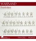 10mm Fantasy Dark Elves: Assorted Warriors