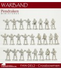 10mm Fantasy Dark Elves: Assorted Crossbowmen