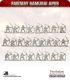 10mm Fantasy Samurai Apes: Archers