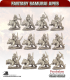 10mm Fantasy Samurai Apes: Tiger Riders