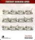 10mm Fantasy Samurai Apes: Tigers