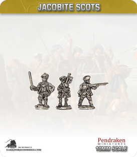 10mm Jacobite Scots (1945): Royal Ecossais