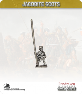 10mm Jacobite Scots (1945): Highlander with Pike