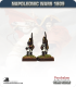 10mm Napoleonic Wars (1809): German Fusilier in Helmet - March Attack
