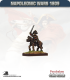 10mm Napoleonic Wars (1809): German Mounted Officers in Coat and Bicorne
