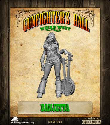 Gunfighter's Ball: Weird West - Banjetta