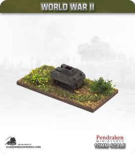 10mm World War II: Belgian - Utility B Tractor pack