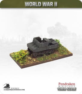 10mm World War II: Belgian - T-13 Tank Destroyer