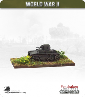 10mm World War II: Belgian - T-15 Light Tank