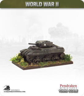 10mm World War II: Canadian - Ram Cruiser tank - 2pdr gun