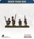 10mm Seven Years War: Hanoverian Tricorn Foot - March Attack