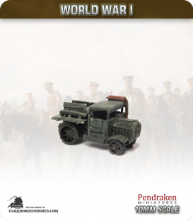 10mm World War I: Austro-Hungarian Austro-Daimler M12 Tractor