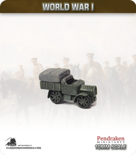 10mm World War I: Austro-Hungarian Austro-Daimler M17 Tractor