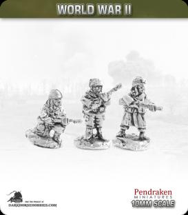 10mm World War II: American - Airborne Riflemen - Ardennes