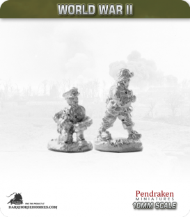 10mm World War II: American - D-Day Paratrooper Officers