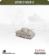 10mm World War II: American - M4A3(75)W Sherman tank - 75mm