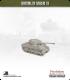 10mm World War II: American - M4A3W Sherman Tank - 76mm (early turret w/ muzzle brake)