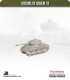 10mm World War II: American - M4A3W Sherman Tank - 76mm (late turret w/ muzzle brake)