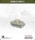 10mm World War II: American - M4A3 Sherman Tank w/ late HVSS - 75mm (late turret)