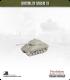 10mm World War II: American - M4A3 Sherman tank w/ late HVSS - 76mm (early turret w/ muzzle brake)