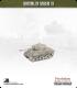 10mm World War II: American - M4A3 Sherman tank w/ late HVSS - 76mm (late turret w/ muzzle brake)