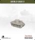 10mm World War II: American - M4A3 Sherman tank w/ late HVSS - 105mm