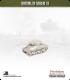 10mm World War II: American - M4A1 Sherman tank - 76mm (mid-war, early turret)