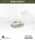 10mm World War II: American - M4A1 Sherman tank - 76mm (mid-war, late turret)