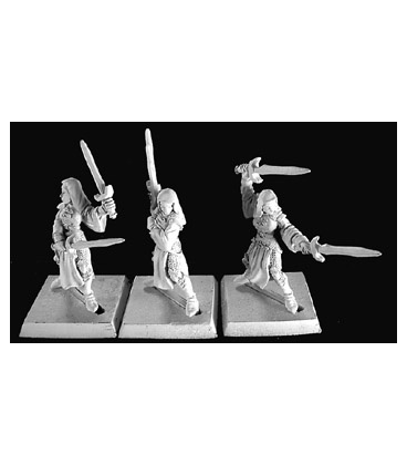 Warlord: Crusaders BattleNuns, Crusaders Adept (9-pack) (unpainted)