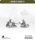 10mm World War II: US Marines - .30cal MG Teams pack