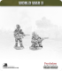 10mm World War II: German - Riflemen pose 1 (early war)
