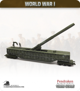 10mm World War I: British 14-in Railway Gun