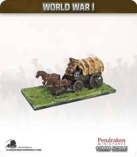10mm World War I: British General Service Wagon (early-war crew)